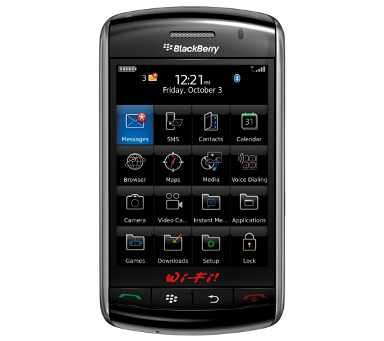 blackberry storm 2 air